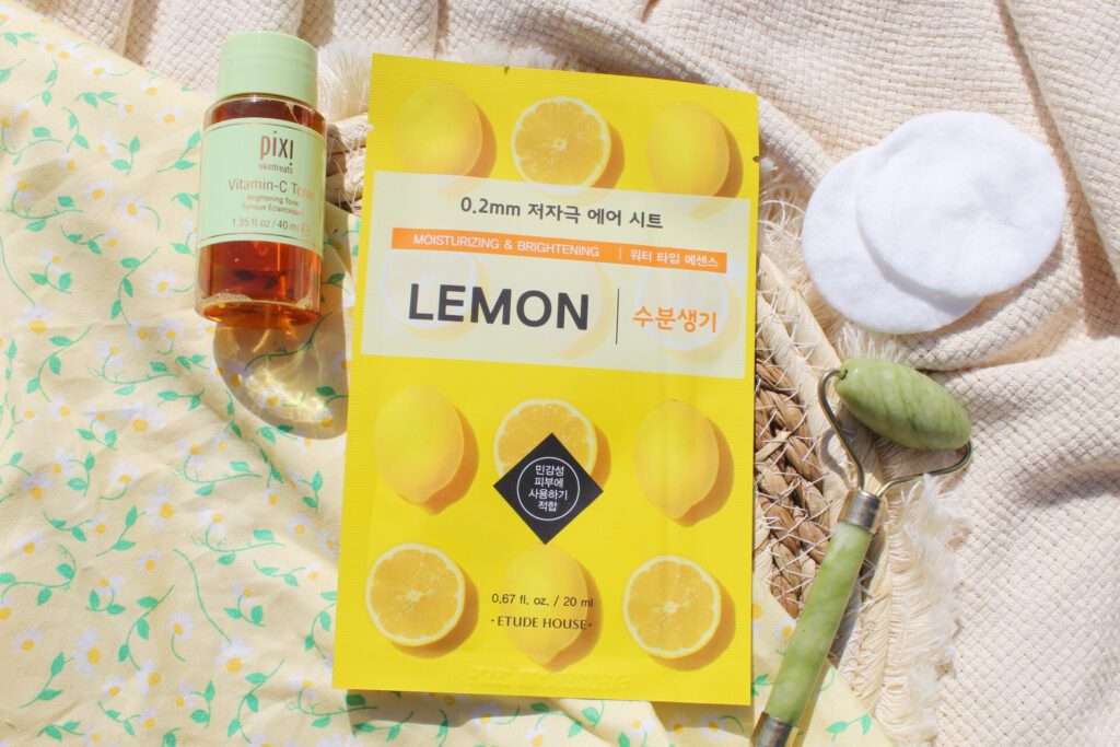 Etude House 0.2mm Air Therapy Mask Lemon Review